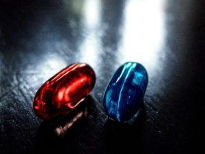 red pill blue pill meaning